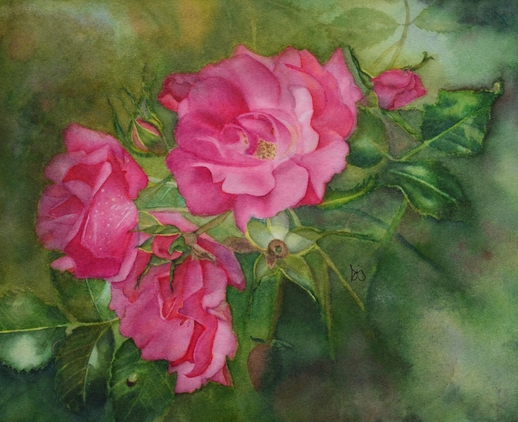 Stages Of Glory watercolor by Susan Ringer