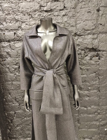 A-Team raffia long coat