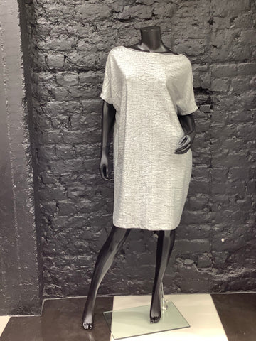 Silver Carbo Dress