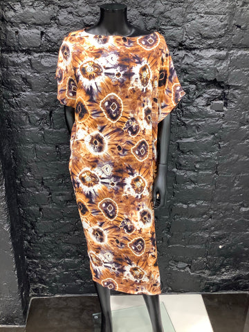 Printed Salinas Dress