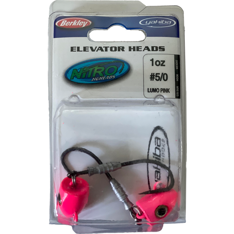 Jig Head Berkley Elevator Heads 2 oz and 4 oz