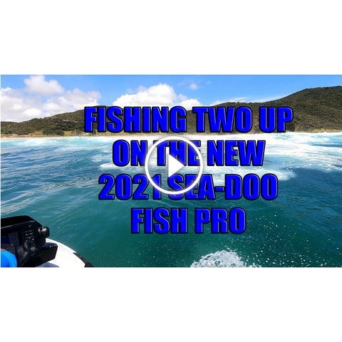 First fishing adventure with the latest 2021 Sea-Doo FISHPRO catching dinner