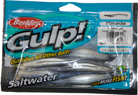 "Gulp Soft Bait Packet 5"" Jerk Shad"