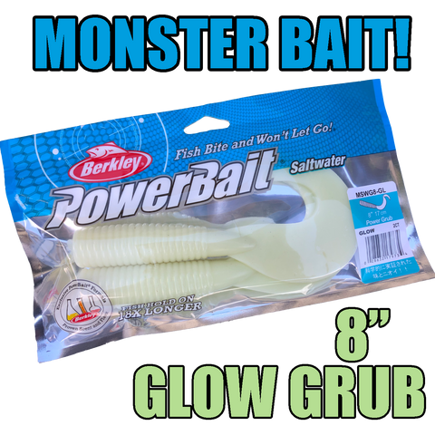 "Gulp Soft bait - 8"" PowerBait Grub"