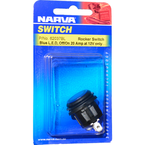 Illuminated 12 volt waterproof switch