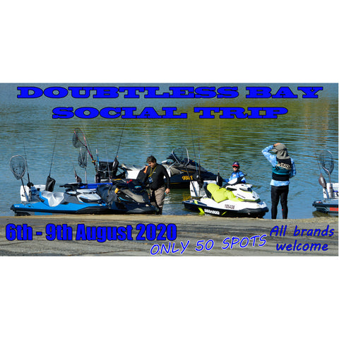 4 day Jetskifishing social trip August 2020, don't miss out!