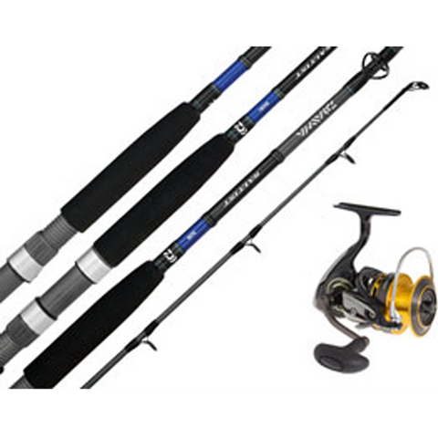 Softbait Rod and Reel combo Daiwa - Same set as what Cooper Hill used to catch his 17 pounder