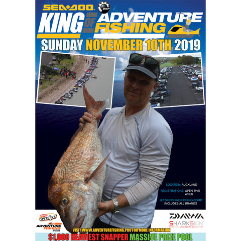 Sea-Doo King of Adventure Fishing 2019