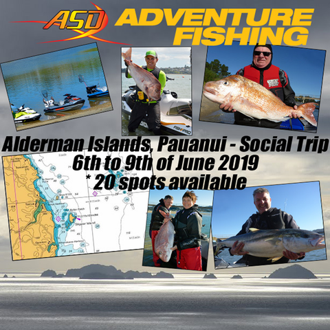 Action Sports Direct Social Trip - Alderman Islands, Pauanui