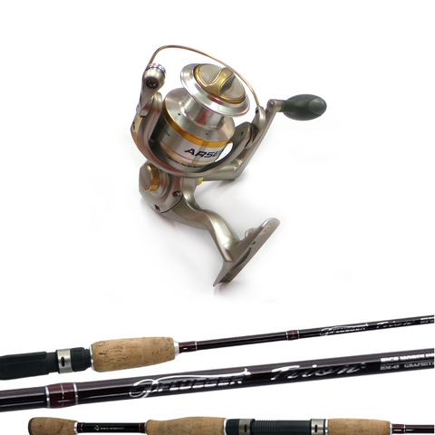 Softbait Rod and Reel combo