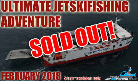 Ultimate Jetskifishing Adventure - Great Barrier Island 2018