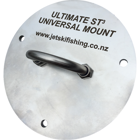 Ultimate ST3 Universal Mount - adapts your ski for installation of an aftermarket fishing kit
