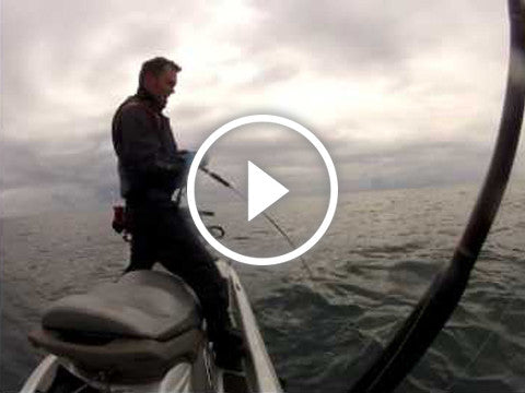 Kingfish action on the Jigging Master jigs