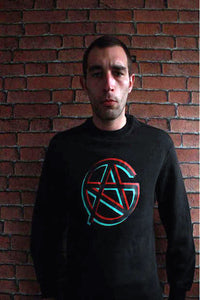 CARNAGE SWEATER BLACK LOGO