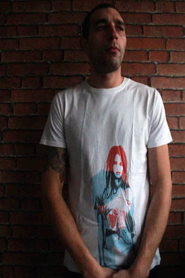 CARNAGE TEE WHITE MARIE