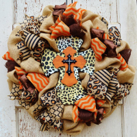 Custom Cross Wreaths, Swags, and Garlands by Sassy Chic Boutique!