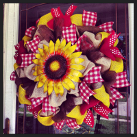 Custom Country Wreaths, Swags, and Garlands by Sassy Chic Boutique!