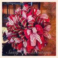 Custom Christmas and Winter Wreaths, Swags, and Garlands by Sassy Chic Boutique!