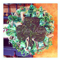 Custom St. Patricks Day Wreaths, Swags, and Garlands by Sassy Chic Boutique!