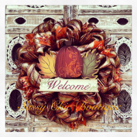 Custom Fall and Thanksgiving Wreaths, Swags, and Garlands by Sassy Chic Boutique