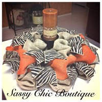 Custom Centerpiece Wreaths, Swags, and Garlands by Sassy Chic Boutique!