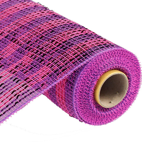 Deluxe Deco Mesh - Hot Pink And Purple (RE1363JY)