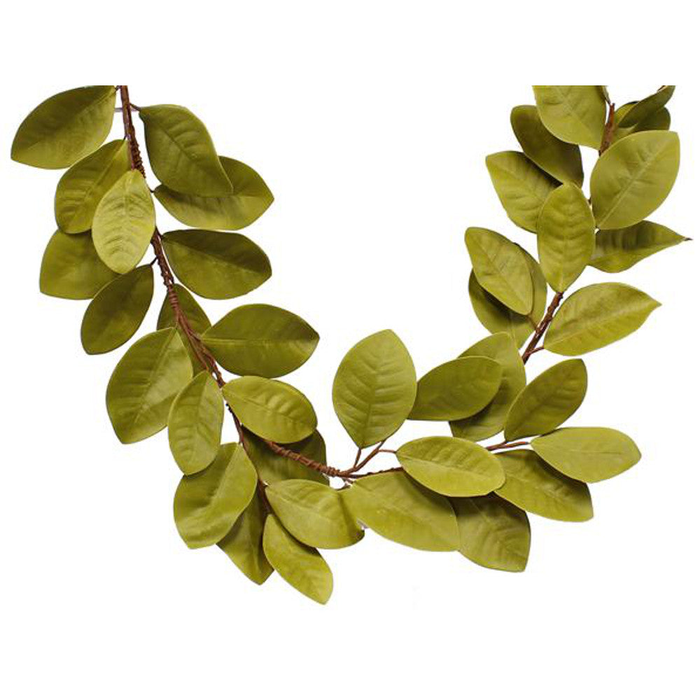Home Decor-Magnolia Leaf Garland - 5'-Sassy Chic Boutique