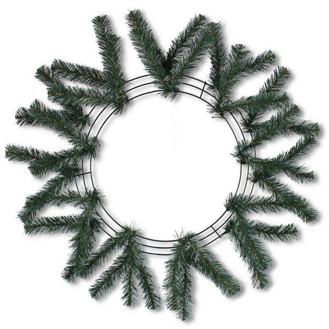 "24"" Green Work Wreath - (XX748709)"
