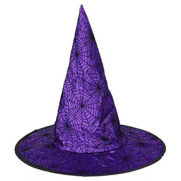 "Home Decor-Purple 16""Dia Witch Hat-Sassy Chic Boutique"