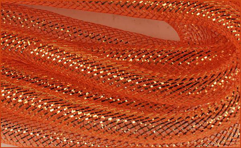 Orange w/Copper Foil Flex Tubing - 16mm x 10 yds - (RE300548)