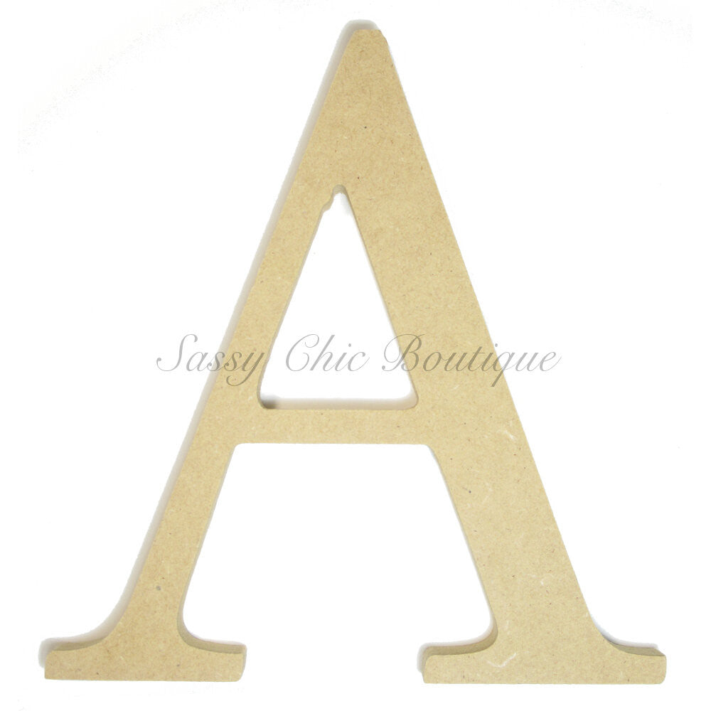 "DIY-Unfinished Wooden Greek Letter ""Alpha""-Sassy Chic Boutique"