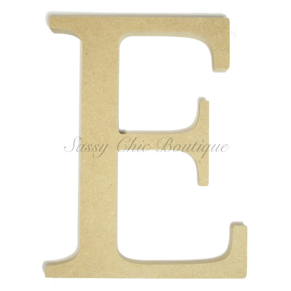 "DIY-Unfinished Wooden Greek Letter ""Epsilon""-Sassy Chic Boutique"