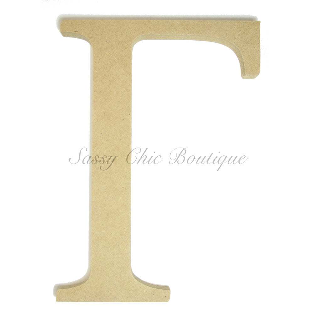 "DIY-Unfinished Wooden Greek Letter ""Gamma""-Sassy Chic Boutique"