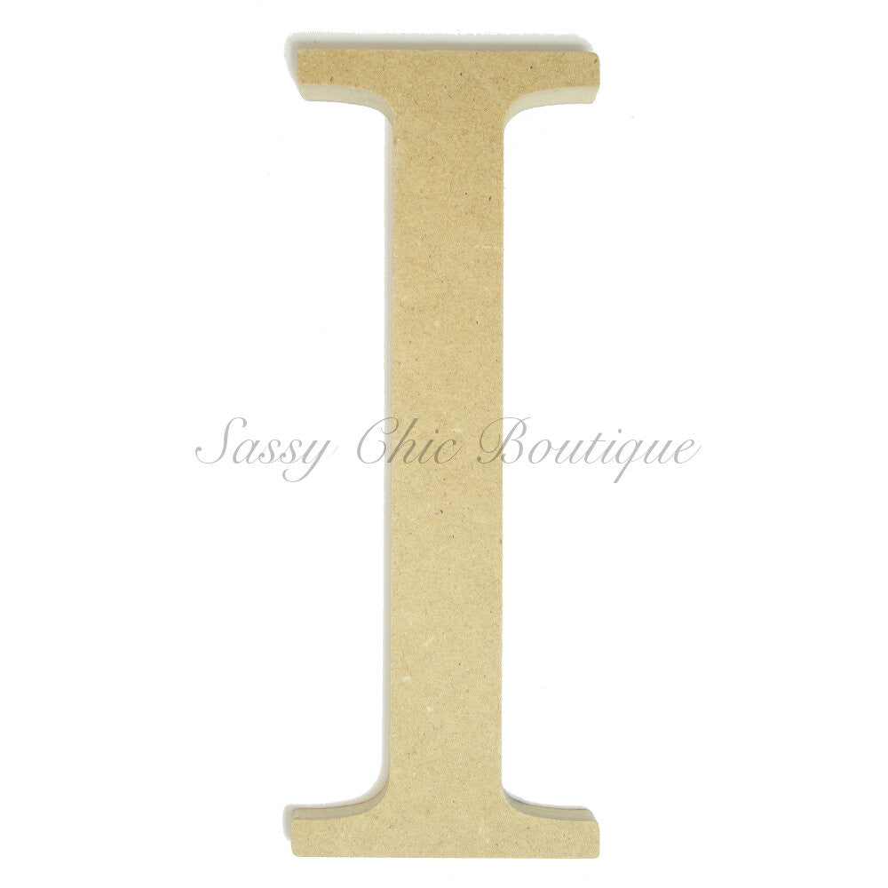 "DIY-Unfinished Wooden Greek Letter ""Iota""-Sassy Chic Boutique"