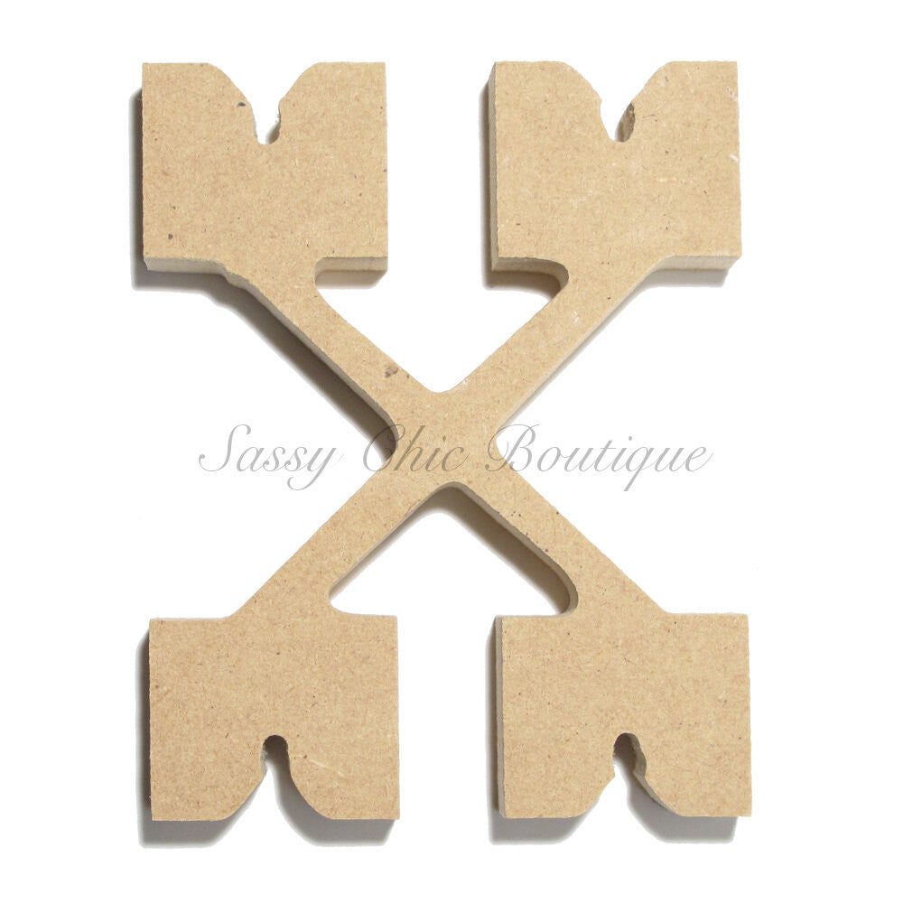 "DIY-Unfinished Wooden Letter - Lowercase ""x"" - Western Font-Sassy Chic Boutique"