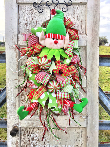 Frolicking Elf Door Piece **Price Includes Shipping**