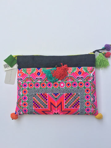 Janey Handmade Clutch