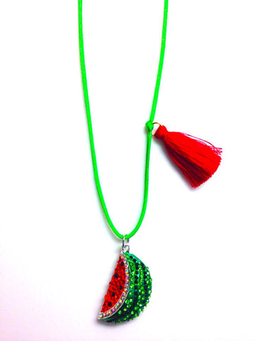 Watermelon Summer Necklace
