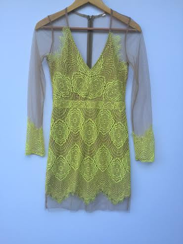 Lace Lime Dress