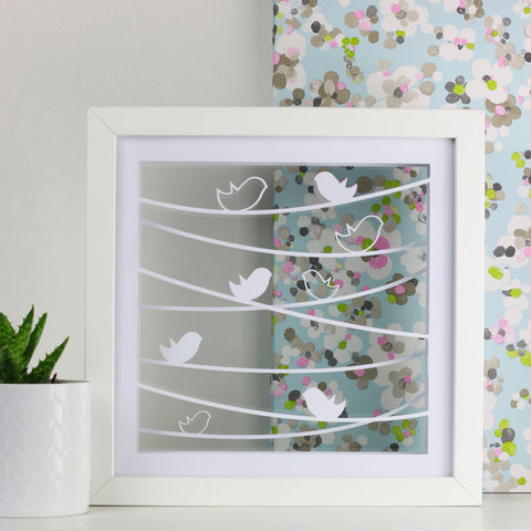 Birds On A Wire Cut Out