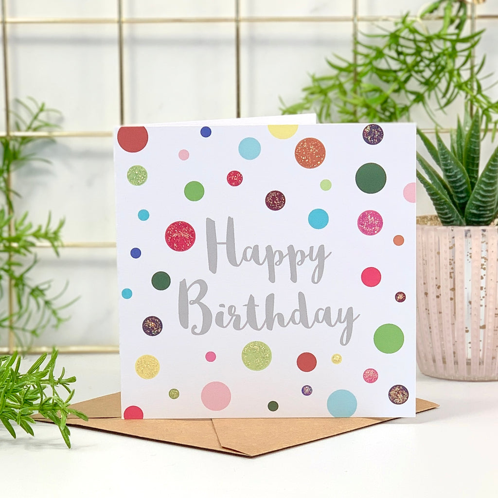 Happy Birthday Bright Spots Card