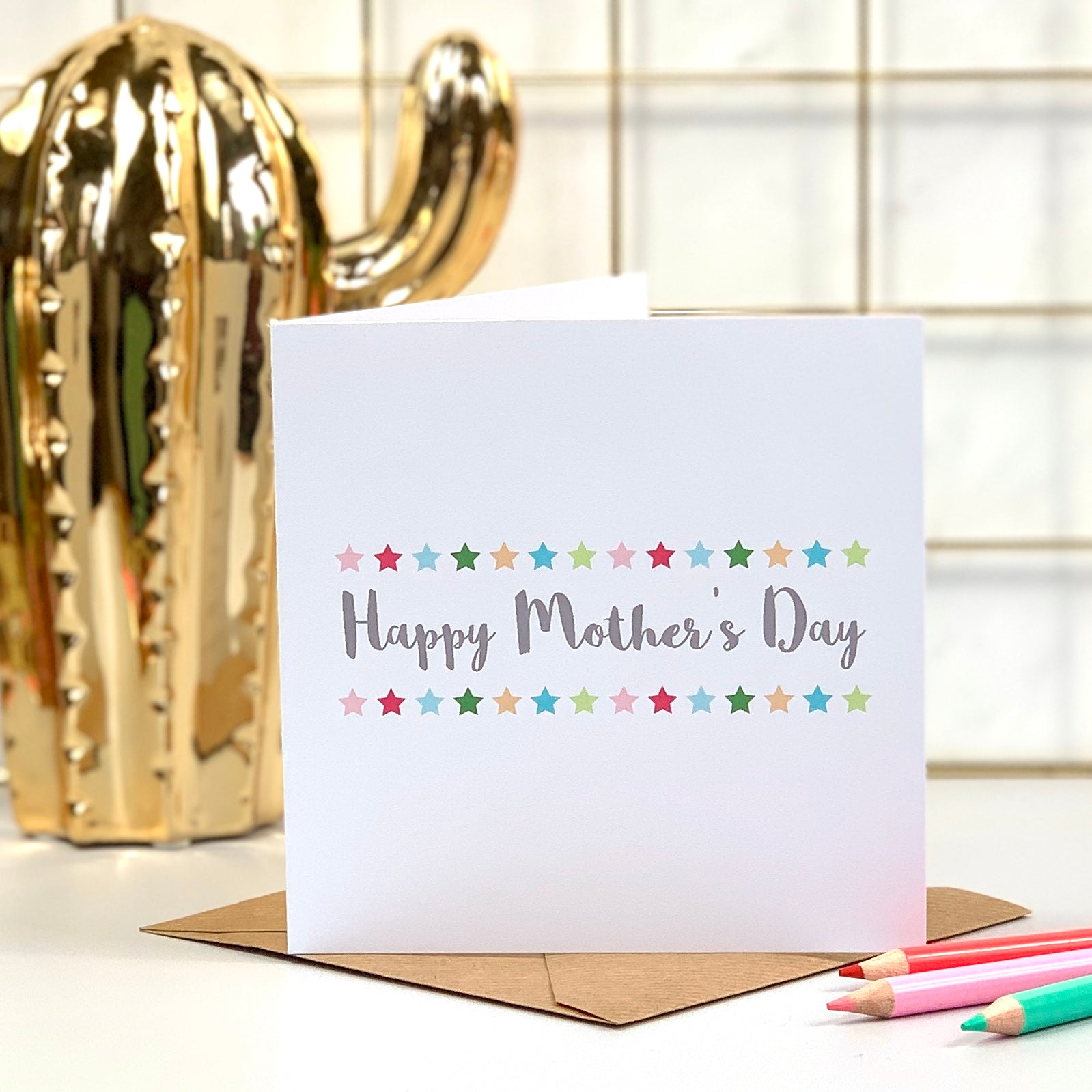 Happy Mother's Day Star Card