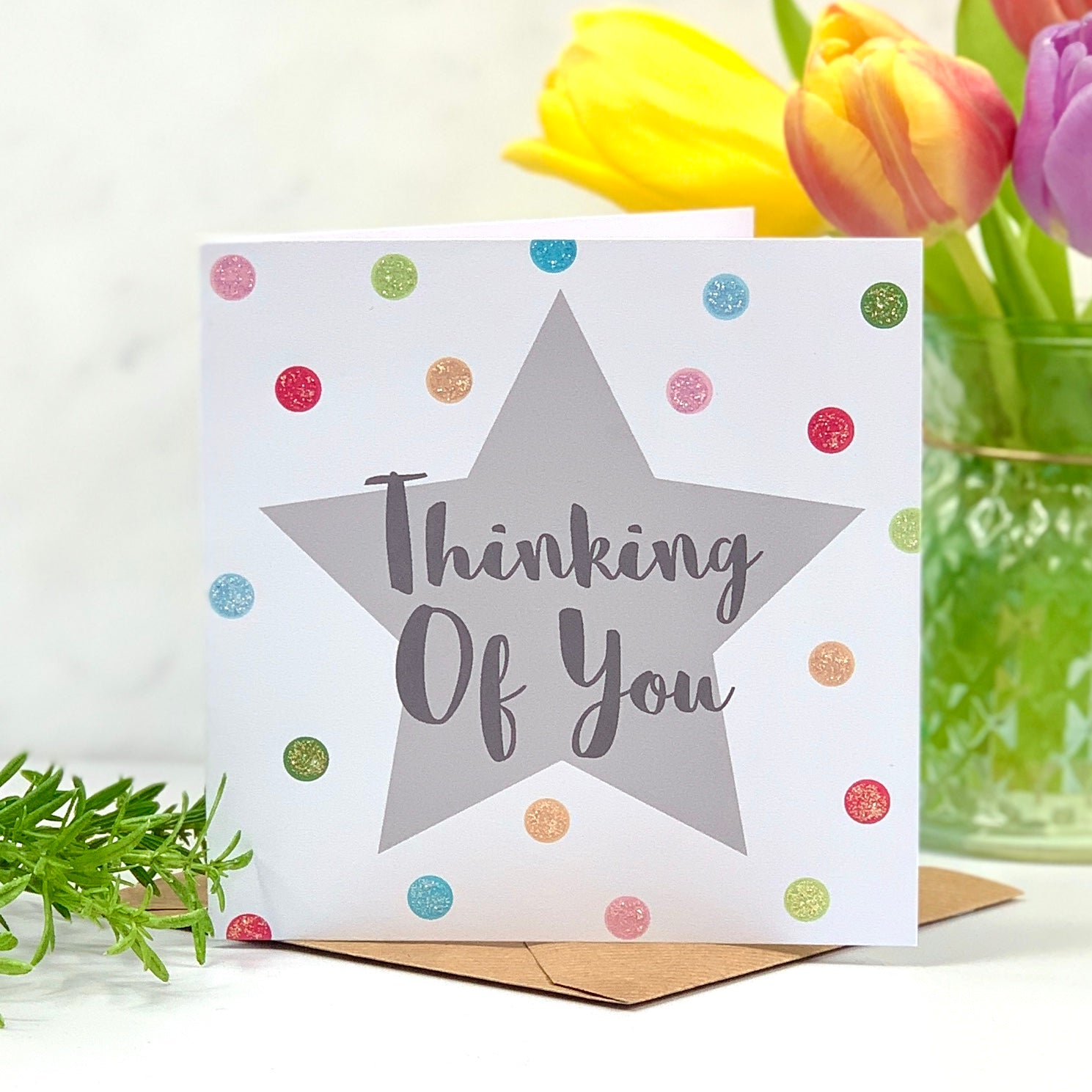 Thinking of You Spots Card