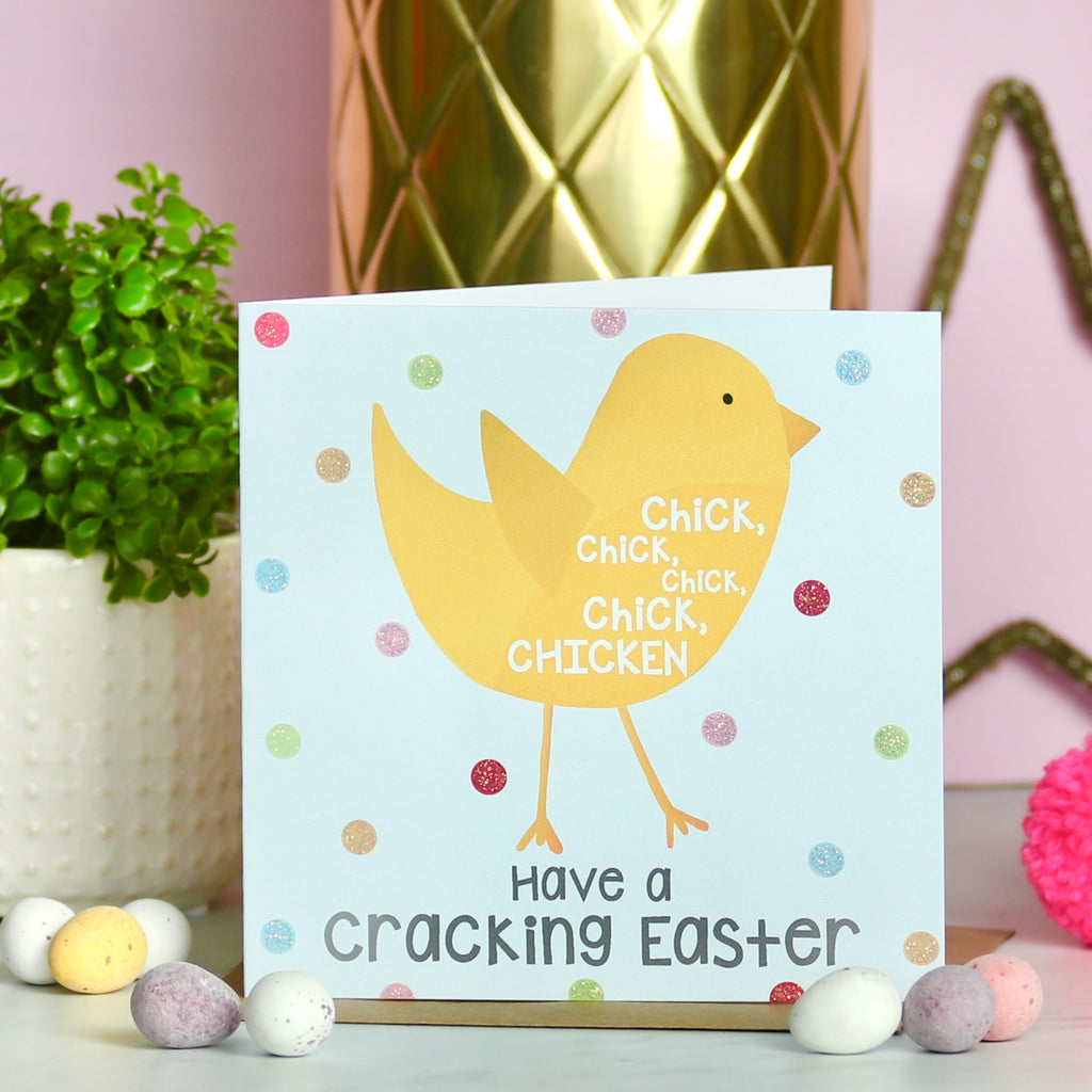 Chick, Chick, Chicken Easter Card