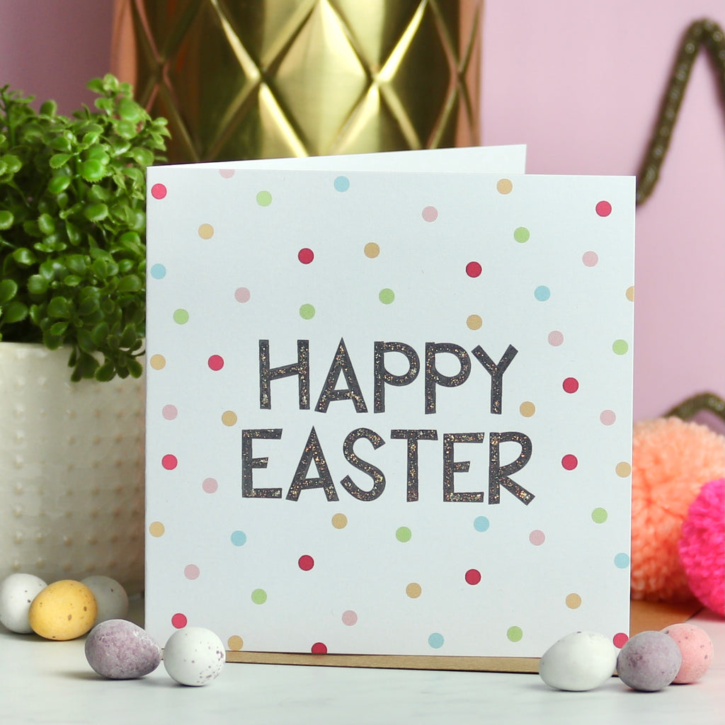 Happy Easter Spots Card