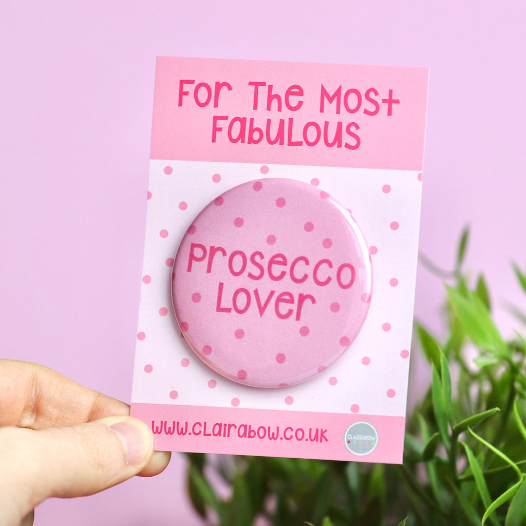 Prosecco Lover Badge