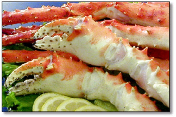 Crab: Frozen Wild COLOSSAL King Crab Legs & Claws, 20lb case: $44.95/lb*