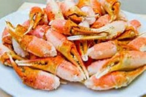 Crab: Frozen Wild Alaska Snow Crab Cocktail Claws  3 pounds only $39.99 per pound*