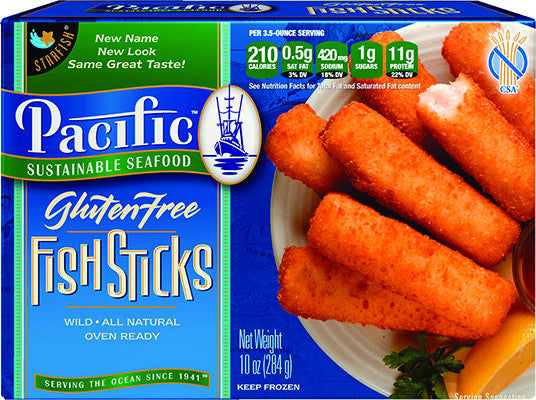 Gluten free breaded fish sticks 12 packages each for Gluten free fish breading