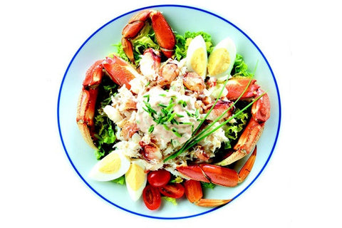 Crab: Jumbo Wild North Pacific Split Snow Crab Sections 10 pound case: $19.99 per pound*